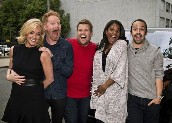 James Corden's Broadway edition of Carpool Karaoke featuring Lin-Manuel Miranda, Audra McDonald, Jane Krakowski, and Jesse Tyler