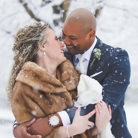 This Classic Detroit Wedding May Make You Nostalgic For the Snow