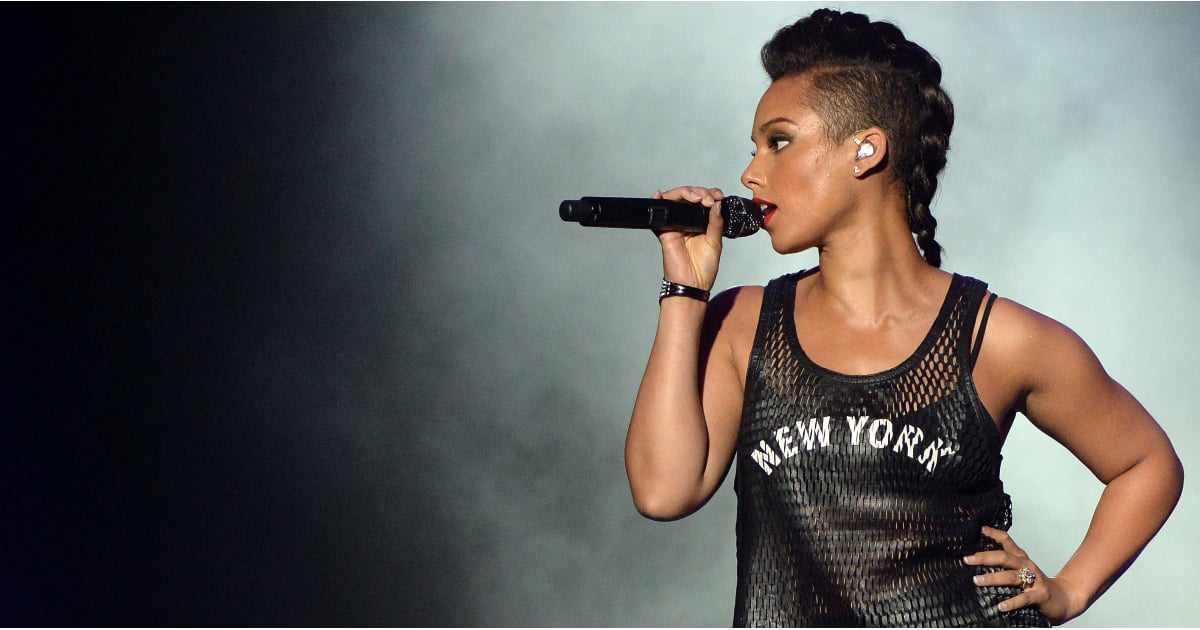 Alicia Keys S Best Hair And Makeup Looks Popsugar Beauty