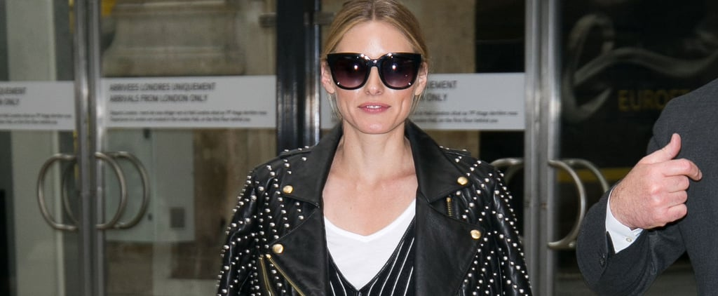 Olivia Palermo's Travel Outfit Is the Cool Alternative to Jeans You Haven't Tried Yet