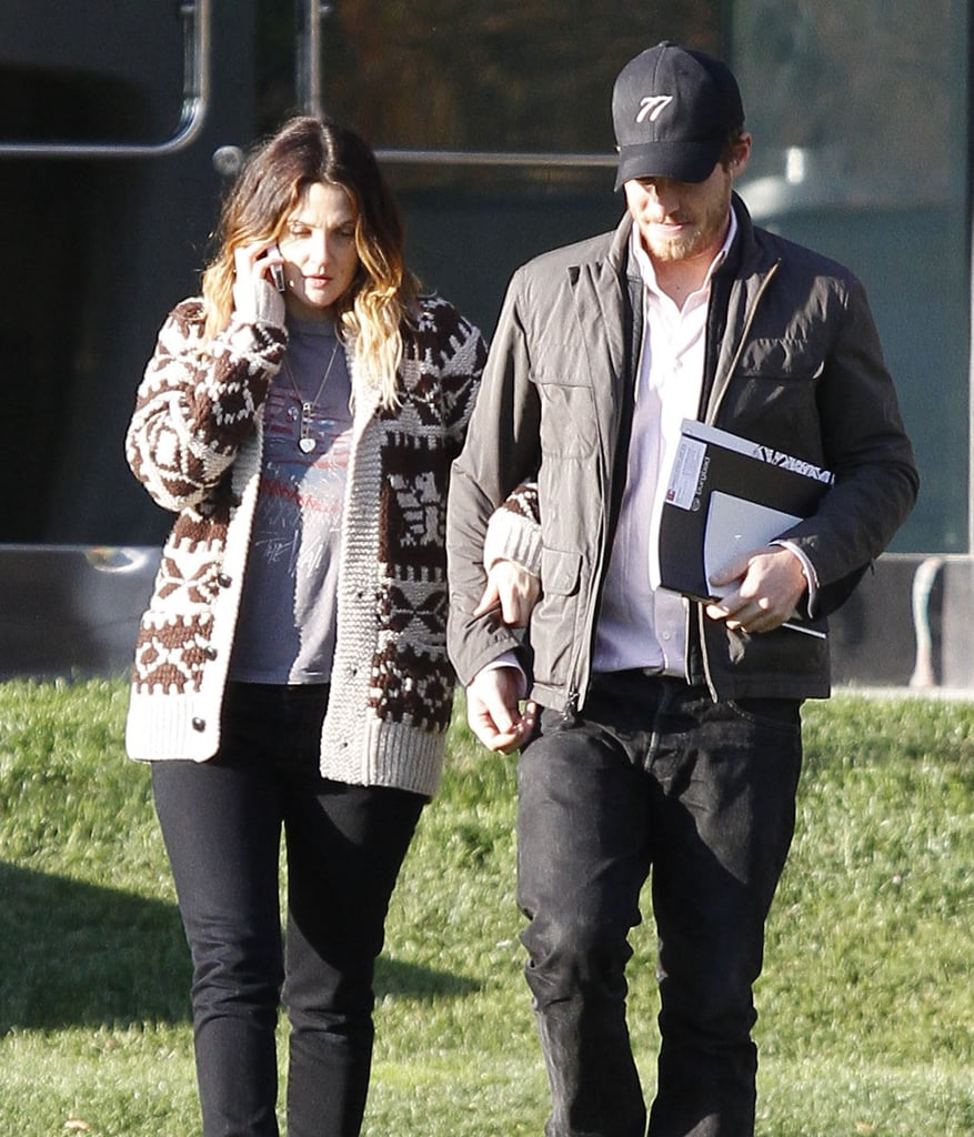Drew Barrymore and Will Kopelman had a loved up day in the sun.