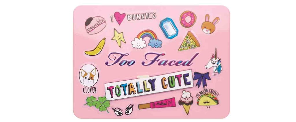 Too Faced's New Summer Palette Brings Back the '90s Sticker Craze