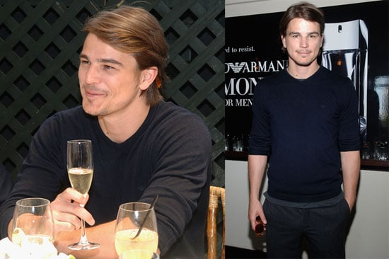 Photos of Josh Hartnett at the Giorgio Armani Beauty Luncheon