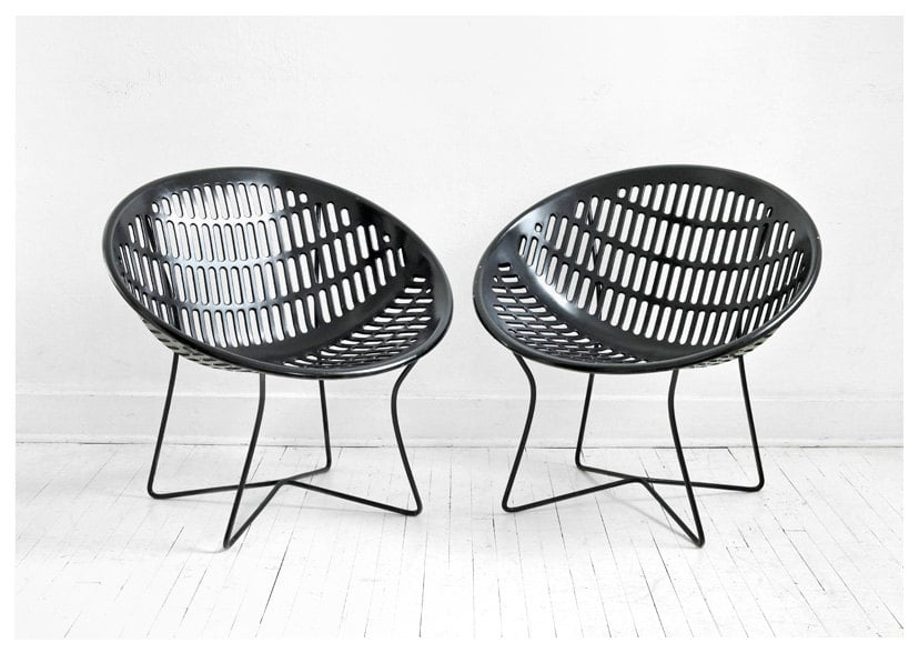 What I love most about these Vintage Solair Basket Chairs ($185 each) is their cool, contemporary shape and unique legs. They'll make a great gift for the design-lover in your life.  — Britt Stephens, assistant editor