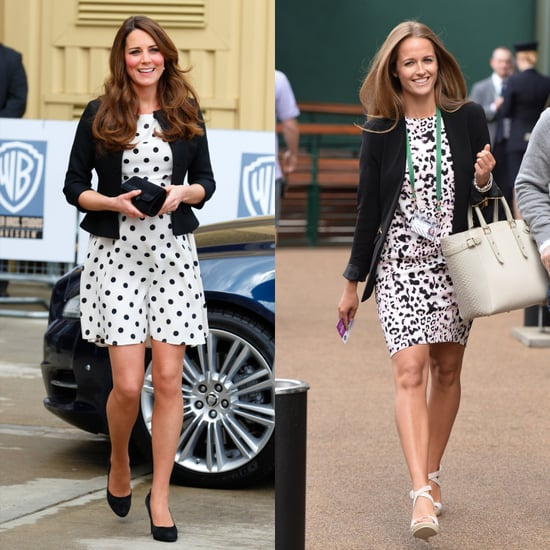 Kim Sears Dressing Like Kate Middleton