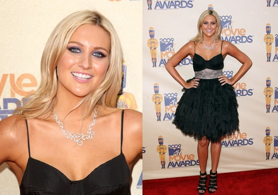 Stephanie Pratt at the 2009 MTV Movie Awards