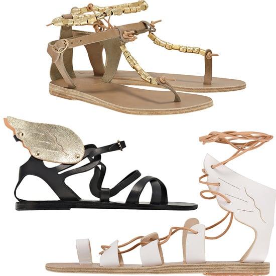Ancient greek sandals celebrity gossip