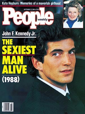 Actors are usually the recipients of the title, with the exception being John F. Kennedy Jr. in 1988. He was also the youngest person at age 27. The oldest person to win the title was Sean Connery in 1989, when he was 59.