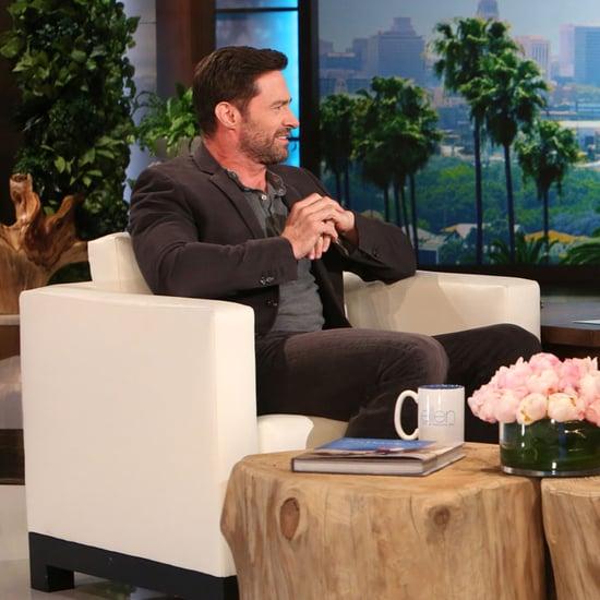 Hugh Jackman on Ellen DeGeneres Show February 2016