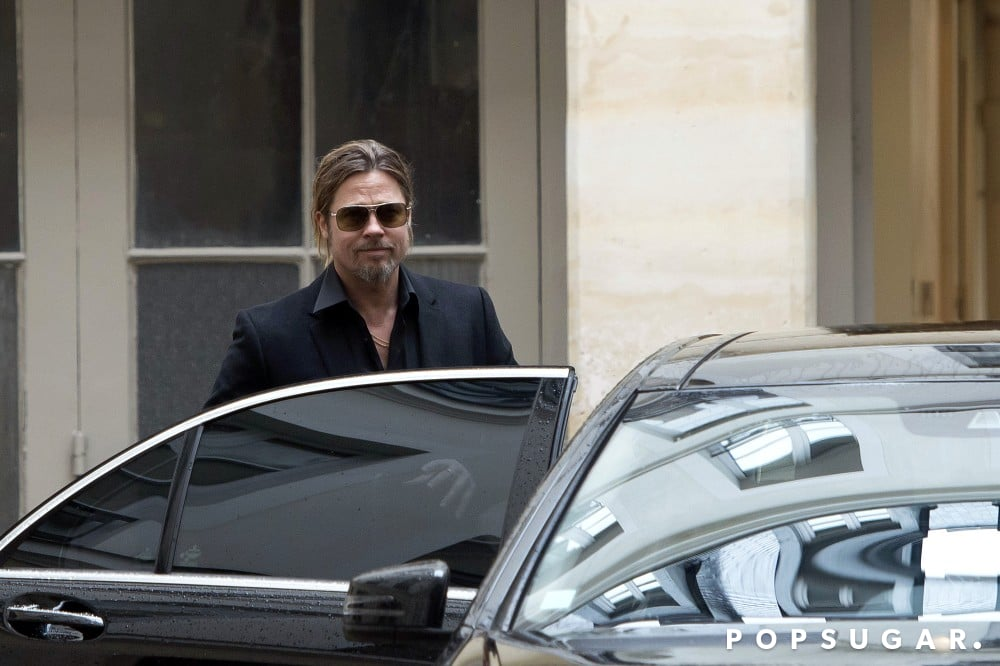 Brad Pitt Celebrates His Wine Success in Paris!