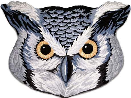 Love It or Hate It? Owl Accent Rug