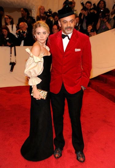Ashley Olsen and Christian Louboutin