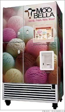 Fresh Ice Cream in 45 Seconds?