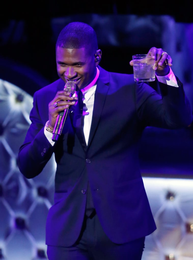 Pictured: Usher