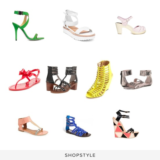 Spring Sandals on Sale March 2014