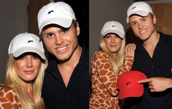 Photos of Heidi Montag and Spencer Pratt at an Event For A. Tiziano