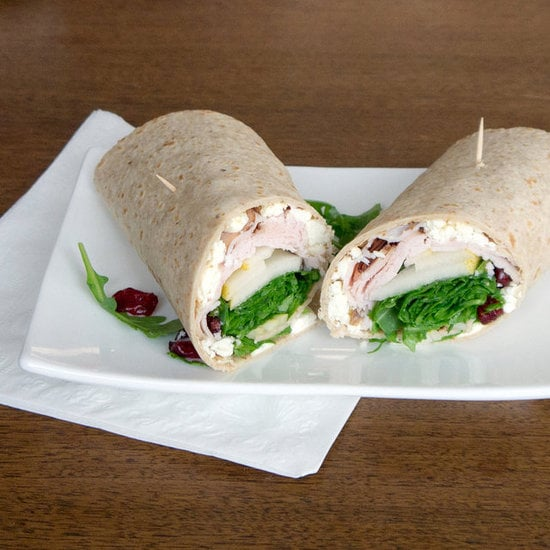 Turkey and Feta Wrap
