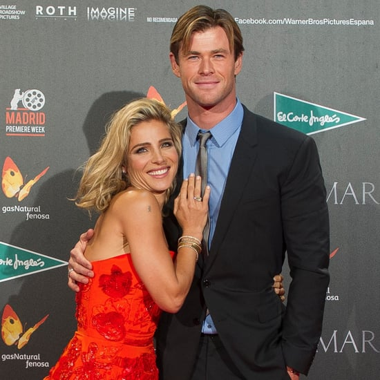 Chris Hemsworth and Elsa Pataky Spanish Premiere 2015