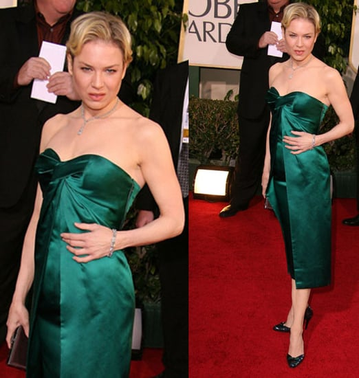 The Golden Globes Red Carpet: Renee Zellweger
