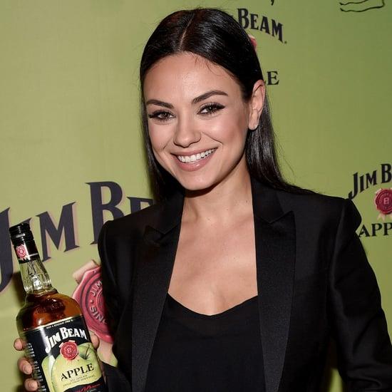 Mila Kunis at Jim Beam Apple Bourbon Launch Event