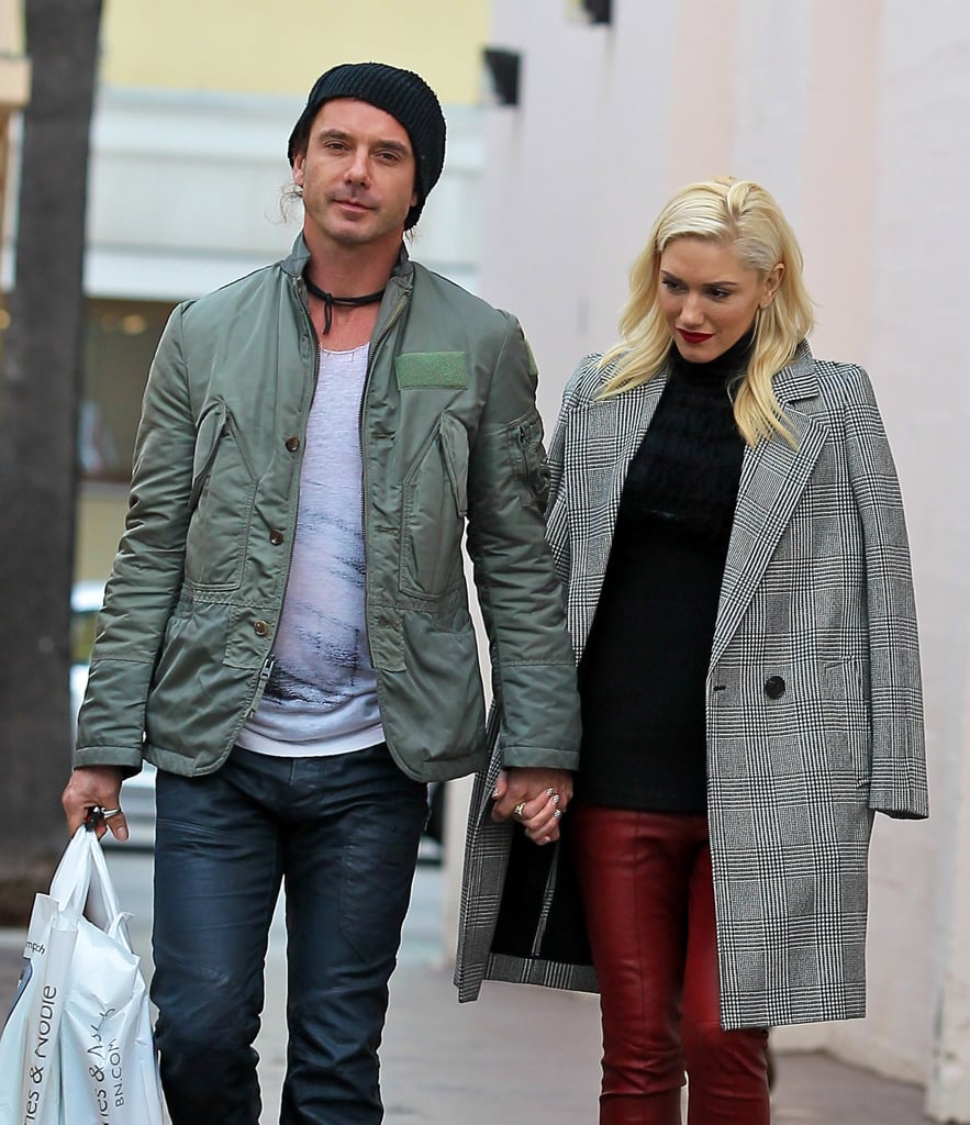 Gwen Stefani and Gavin Rossdale went shopping without their kids.