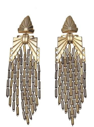 Tania Apor Vintage Art Deco 'Gatsby' earrings