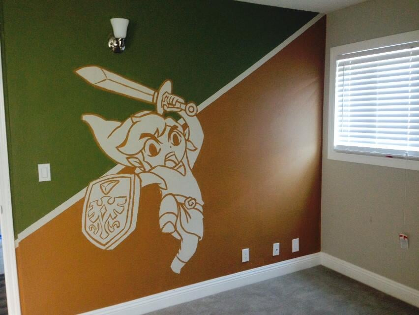 """""""My boyfriend painted this in my son's new bedroom."""" Source: Imgur"""