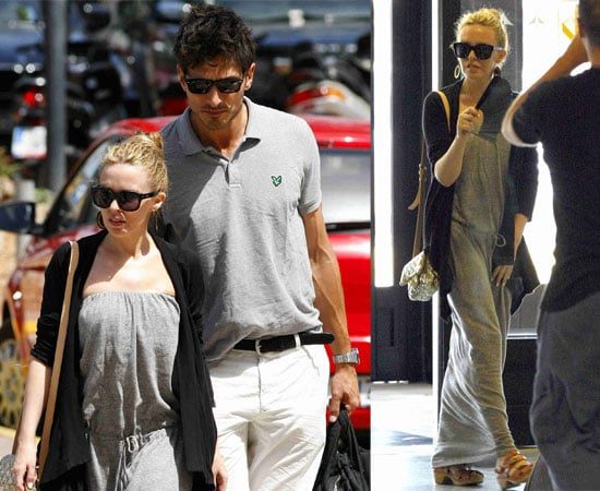 Pictures of Kylie Minogue and Andres Velencoso in Ibiza!
