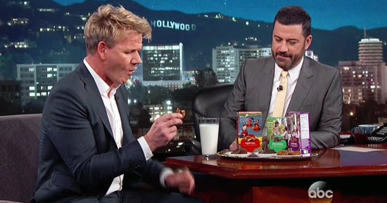 Gordon Ramsay Tried a Girl Scout Thin Mint and Spit It Out in Disgust!