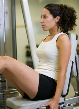 Holiday Fit Tip: Don't Just Sit There — Work Those Quads