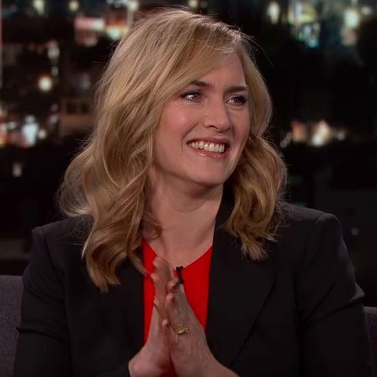 Kate Winslet on Jimmy Kimmel Live February 2016