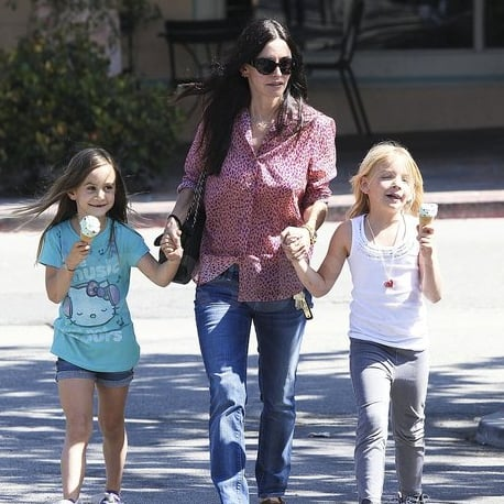 Courteney Cox and Coco Arquette Get Ice Cream in Malibu