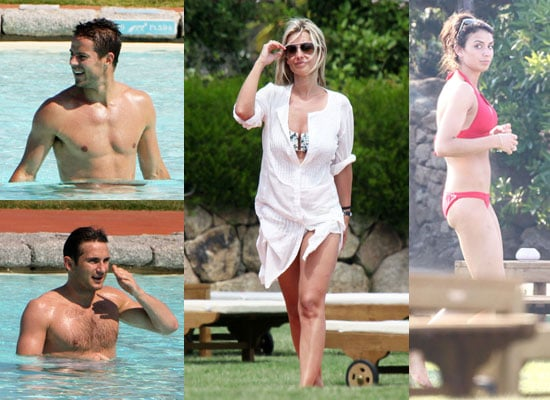 Pictures of Louise Redknapp, Jamie Redknapp, Frank Lampard and Christine Bleakley on Holiday in Bikinis and Shirtless