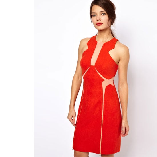 As clichéd as it is I can't look past red and I'm loving this structured yet sexy dress. It's all about the strategically placed cut-outs!—Laura, shopstyle.com.au country manager Dress, approx $246, Three Floor atASOS