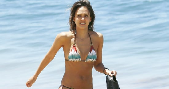 Jessica Alba Celebrates 35th Birthday in Teeny Bikini in Hawaii — See Her Hot Bod!