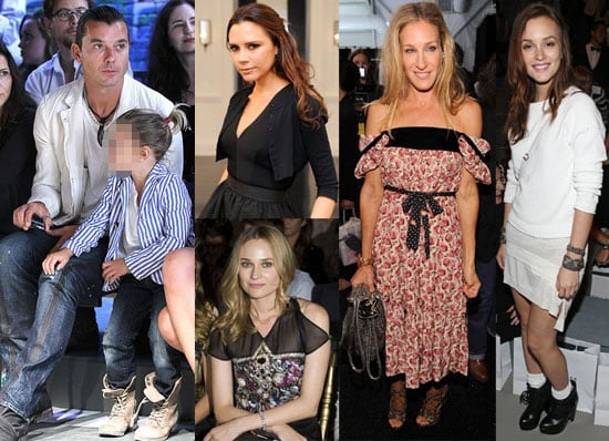 Pictures of Victoria Beckham, Leighton Meester, Gavin Rossdale, and More at 2011 Spring New York Fashion Week