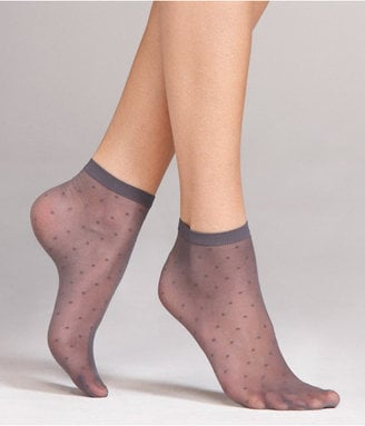How darling would these Express Sheer Dot Ankle Socks ($8) look with a pair of oxfords?