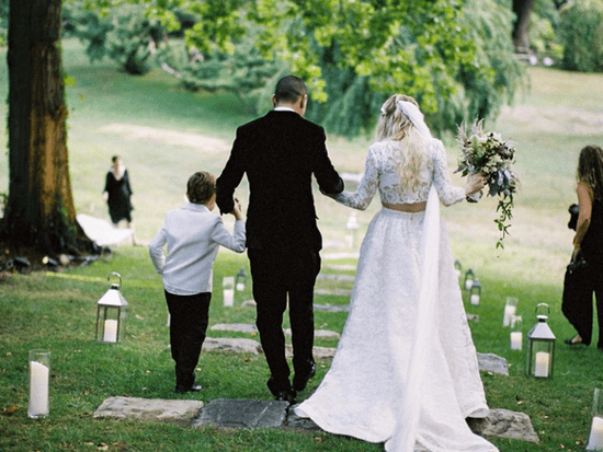 Evan Ross And Ashlee Simpson's Wedding Photos Are Beautiful