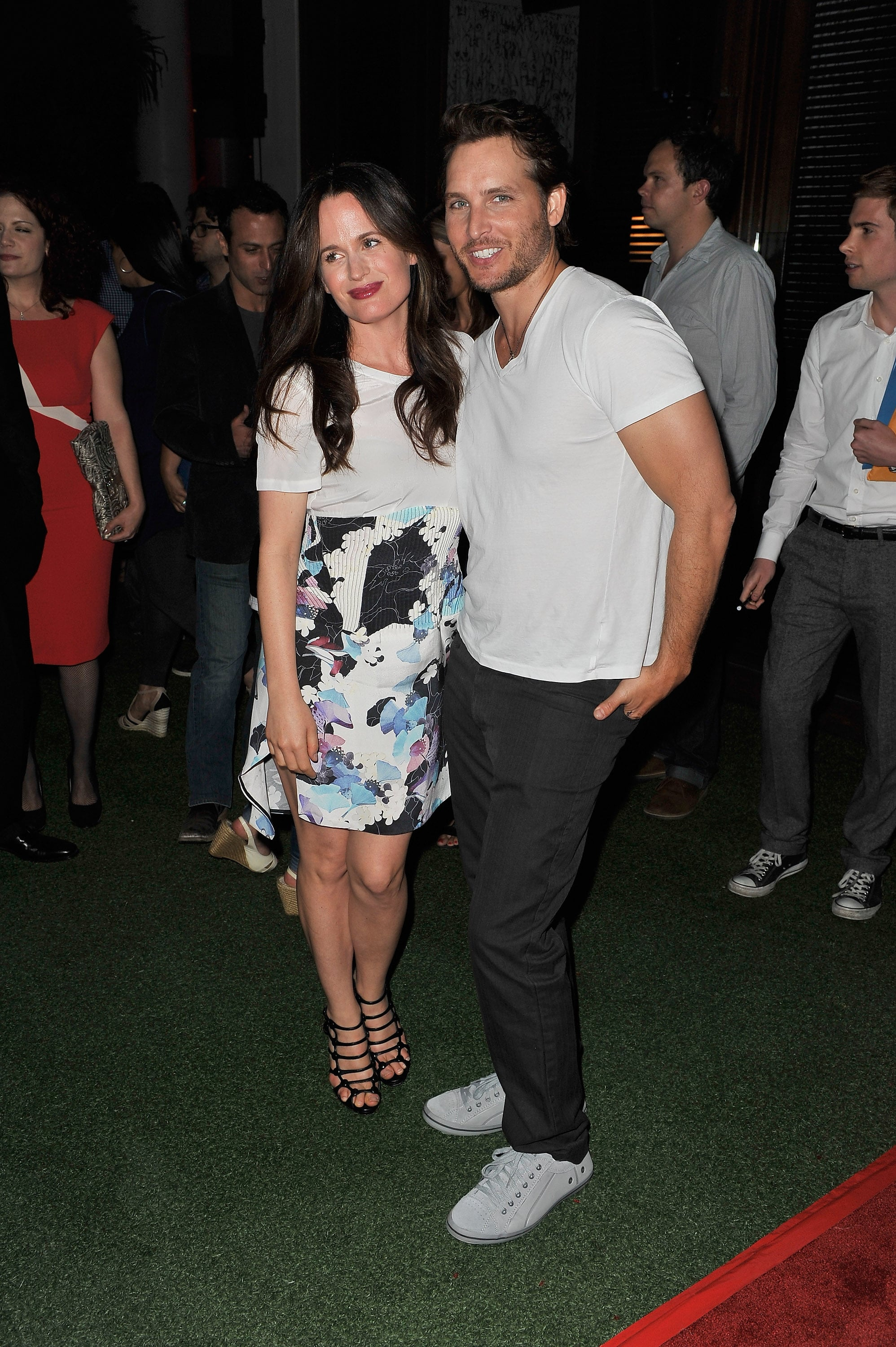 Peter Facinelli linked up with Elizabeth Reaser at the Breaking Dawn Part 2 party at Comic-Con.