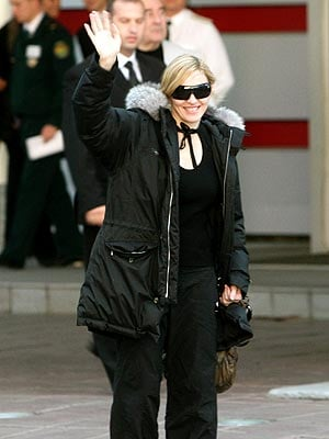 Madonna Won't Jet off to Space