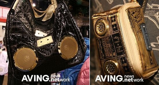 Fi-Hi Boombox Bags Are Pure Bling