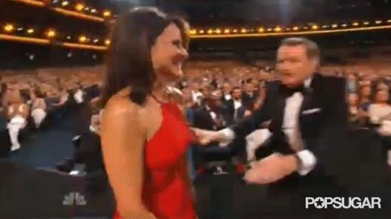 Bryan Cranston and Julia Louis-Dreyfus Totally Made Out