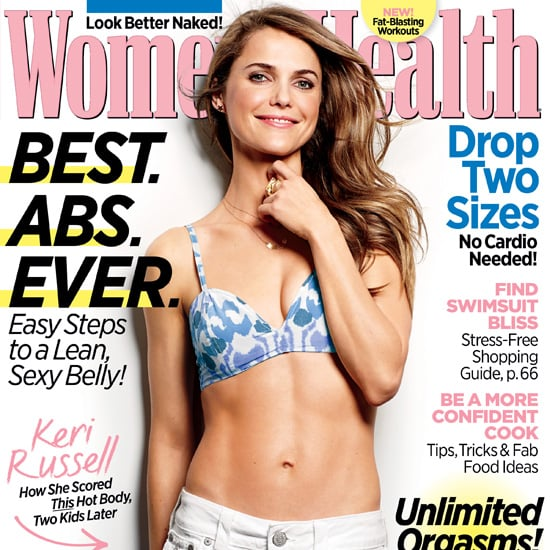 Keri Russell in Women's Health May 2013