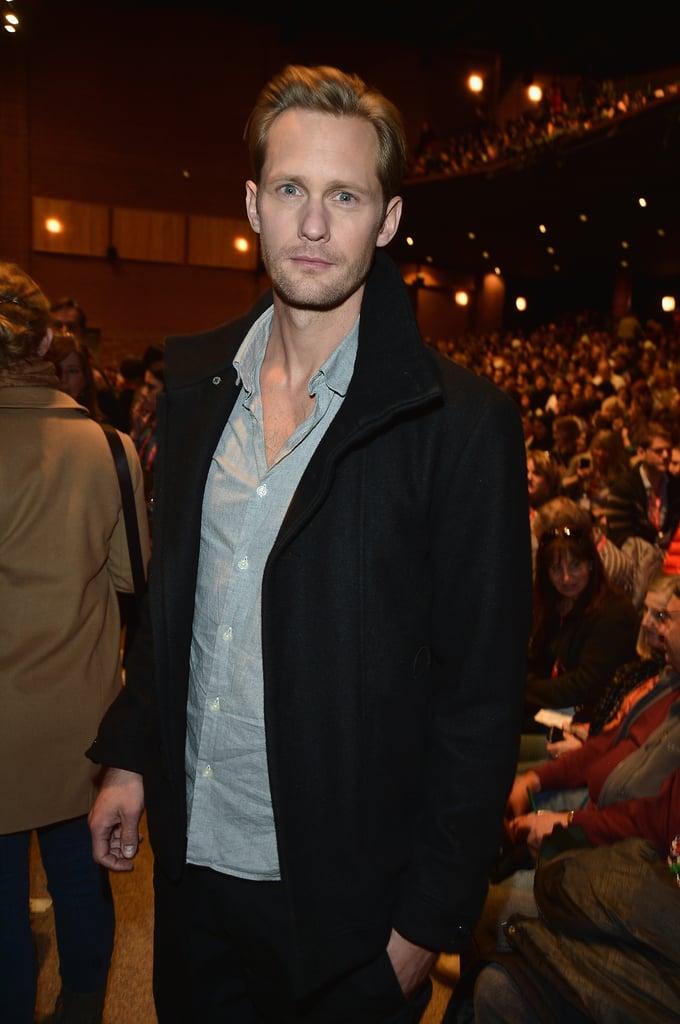 Alexander Skarsgård Cosies Up With His Co-Stars at Sundance