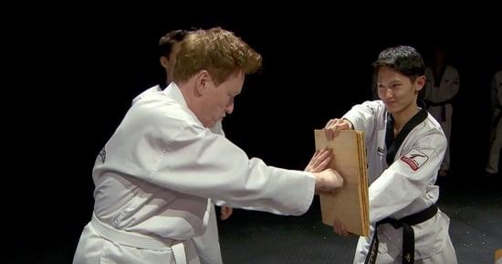 Conan Goes To Korea And Learns Taekwondo ... Well, Sort Of