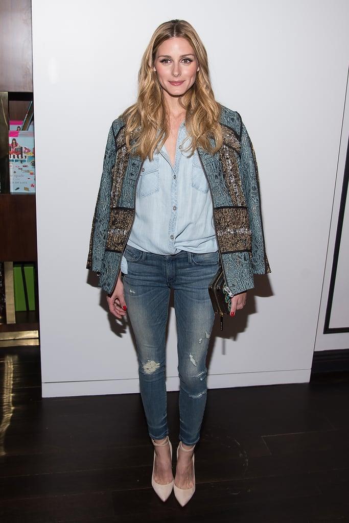 Olivia Palermo Wearing Denim on Denim March 2016 ...