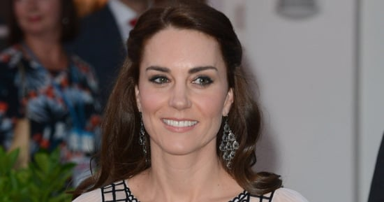 Catherine, Duchess Of Cambridge Just Wore The Fanciest Crop Top Ever