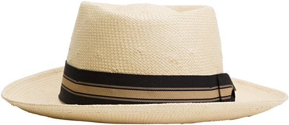 If your dad plays golf or just enjoys time outdoors, show him how much you care about his protection from the sun with this ultra-cool straw fedora.  Brixton Scout Hat ($50)