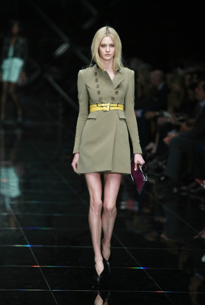 2011 Spring London Fashion Week: Burberry Prorsum
