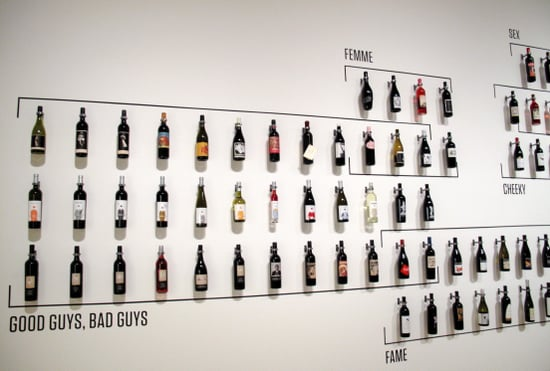 "Pictures of the ""How Wine Became Modern"" Art Exhibit at SFMOMA"